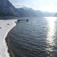 Badeplatz im Winter