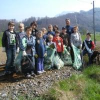 Flurreinigung in Gmunden