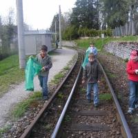 Flurreinigung in Gmunden 2011