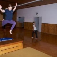 Tanzgymnastik Aufwärmen