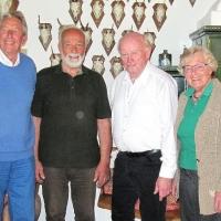 Manfred Huhle feiert den 80. Geburtstag