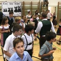 Turnen in der Schnitzelgrube in Salzburg, Volkstanzfest und 135.Zistel-Bergturnfest