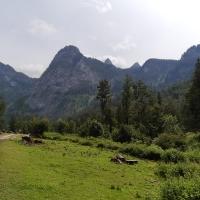 Bergturnfest Ischler Hütte,  Schwarzenberg Alm, Juli 2020